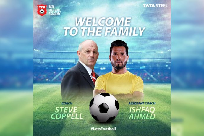 Tata Steel owned Jamshedpur FC name Steve Coppell as manager and Ishfaq Ahmed as assistant manager (Photo courtesy: Jamshedpur FC)