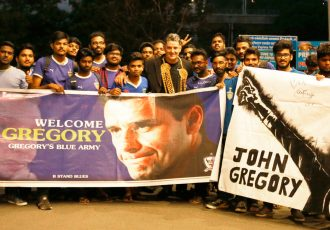 Chennaiyin FC head coach John Gregory (Photo courtesy: Chennaiyin FC)