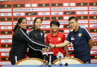 Malaysia v India Women's Friendly Match Pre-Match Press Conference in Kuala Lumpur (Photo courtesy: AIFF Media)