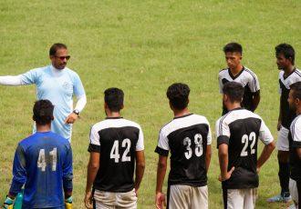 Mohammedan Sporting Club training session (Photo courtesy: Mohammedan Sporting Club)