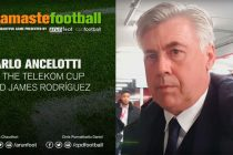 #NamasteFootball: Carlo Ancelotti on Telekom Cup and James Rodríguez
