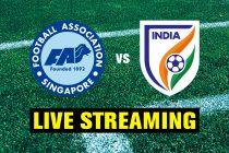 Live Streaming: Singapore U-23 v India U-23