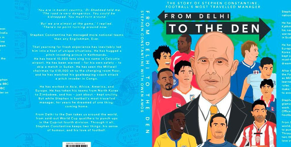 Stephen Constantine's book 'From Delhi to the Den'
