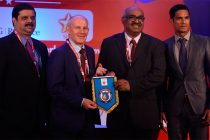 Tata Steel owned Jamshedpur FC logo launch (Photo courtesy: Tata Steel)