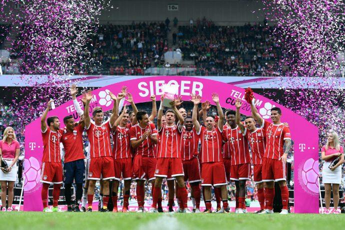 Telekom Cup 2017 champions FC Bayern München (© Telekom)