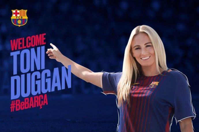 England international toni duggan signs for fc barcelona women 39 s team - Forlady barcelona ...