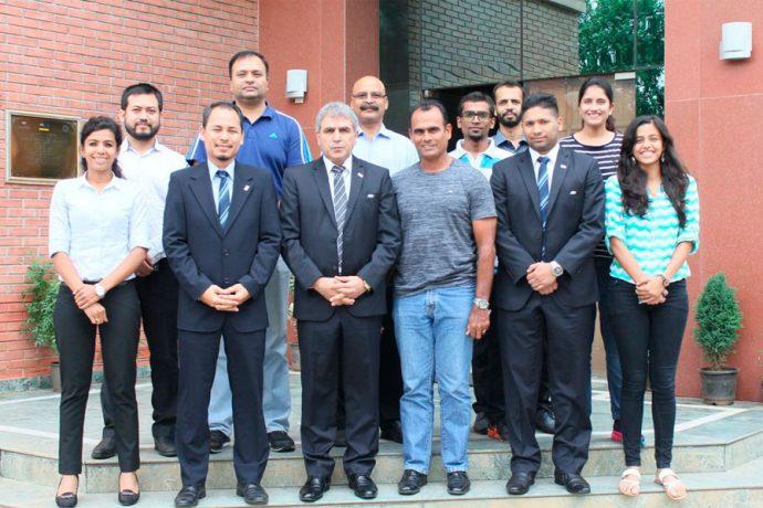 AFC Futsal Development Programme assesses roadmap for India (Photo courtesy: AIFF Media)