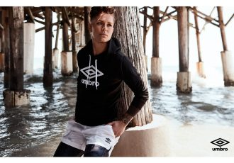 'Football-First' Umbro brand unveils marketing campaign with Ashlyn Harris (Photo courtesy: Iconix Brand Group, Inc.)