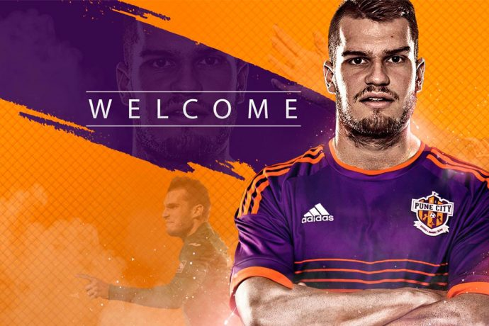 FC Pune City sign Croatian defender Damir Grgić (Photo courtesy: FC Pune City)