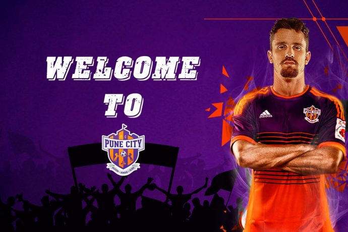 FC Pune City sign Indian Super League top scorer Marcelinho (Image courtesy: FC Pune City)