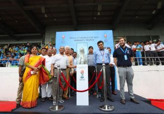 FIFA U-17 World Cup India 2017 Trophy Experience kicks off in New Delhi (Photo courtesy: FIFA U-17 World Cup India 2017 LOC)