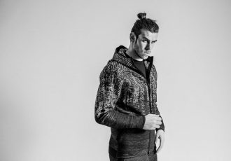 Gareth Bale wearing the adidas Z.N.E. Pulse Collection (Photo courtesy: adidas)