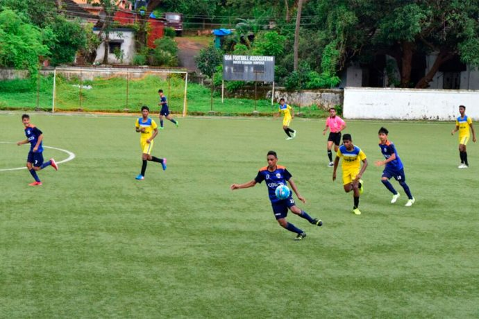 Goa hold Maharashtra to qualify for the Sub-Junior Nationals final round (Photo courtesy: Goa Football Association)