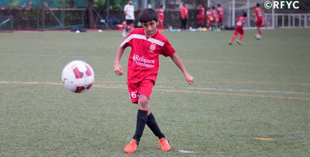 Kshitij Kumar Singh (Photo courtesy: Reliance Foundation Youth Sports)