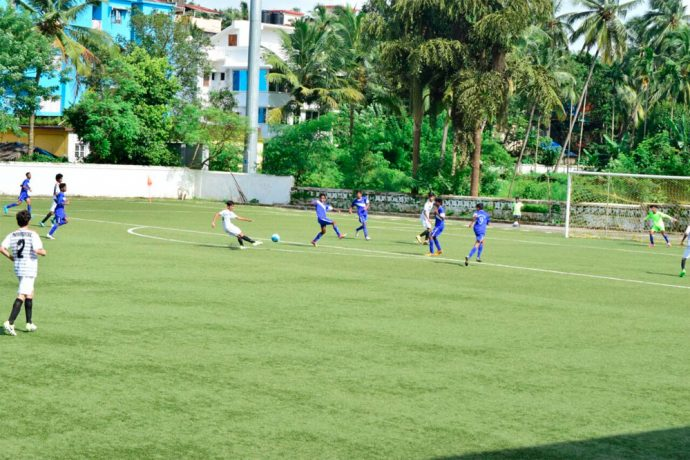 Maharashtra thump Daman & Diu in Sub-Junior Nationsl (Photo courtesy: Goa Football Association)