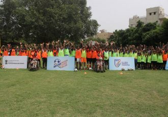 Mission XI Million conducts 'special' festival at Vishwas Vidyalaya (Photo courtesy: FIFA U-17 World Cup LOC)