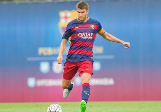 Sergio Juste Marin in action for FC Barcelona B (Photo courtesy: FC Goa)