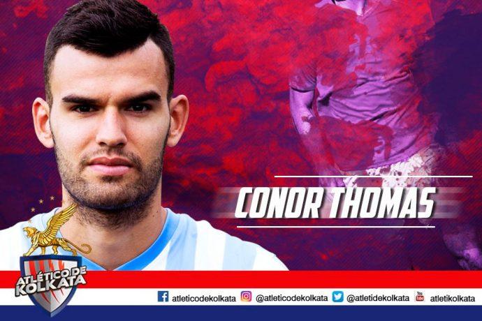 ATK sign English midfielder Conor Thomas (Photo courtesy: ATK)