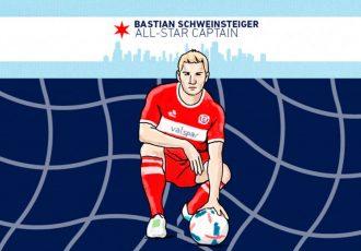 Bastian Schweinsteiger voted captain for the MLS All-Star Game (Image courtesy: MLS)