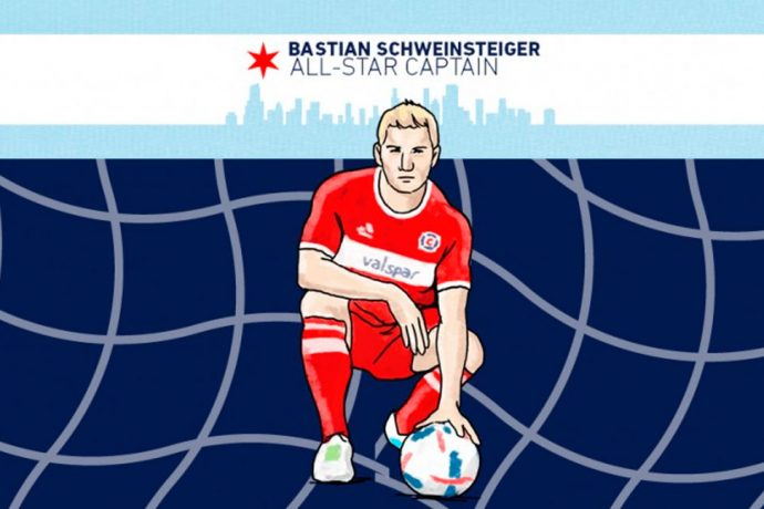 Bastian Schweinsteiger voted captain for the MLS All-Star Game (Image courtesy: MLS)