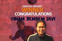 Oinam Bemdem Devi to receive prestigious Arjuna Award (Image courtesy: AIFF Media)