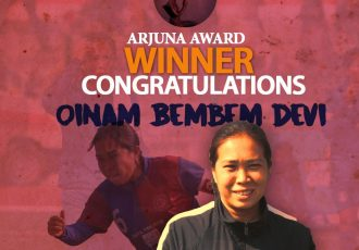Oinam Bemdem Devi to receive prestigious Arjuna Award (Image courtesy: AIFF Media)
