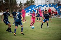 Bengaluru FC skipper Sunil Chhetri in action against Baniyas Club in a pre-season clash at the Pinatar Arena in Murcia, Spain, on Tuesday. (Photo courtesy: Bengaluru FC)