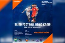 IBFF to organize first ever demo of 5-a-side Blind Football in Goa
