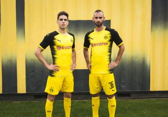 PUMA and Borussia Dortmund present the new kit for European fixtures (Photo courtesy: PUMA)