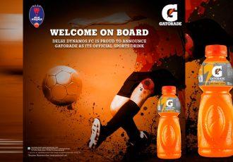 Gatorade joins hands with Delhi Dynamos for Football Development (Image courtesy: Delhi Dynamos FC)