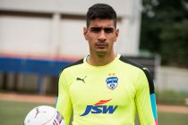 Bengaluru FC and India goalkeeper Gurpreet Singh Sandhu (Photo courtesy: Bengaluru FC)