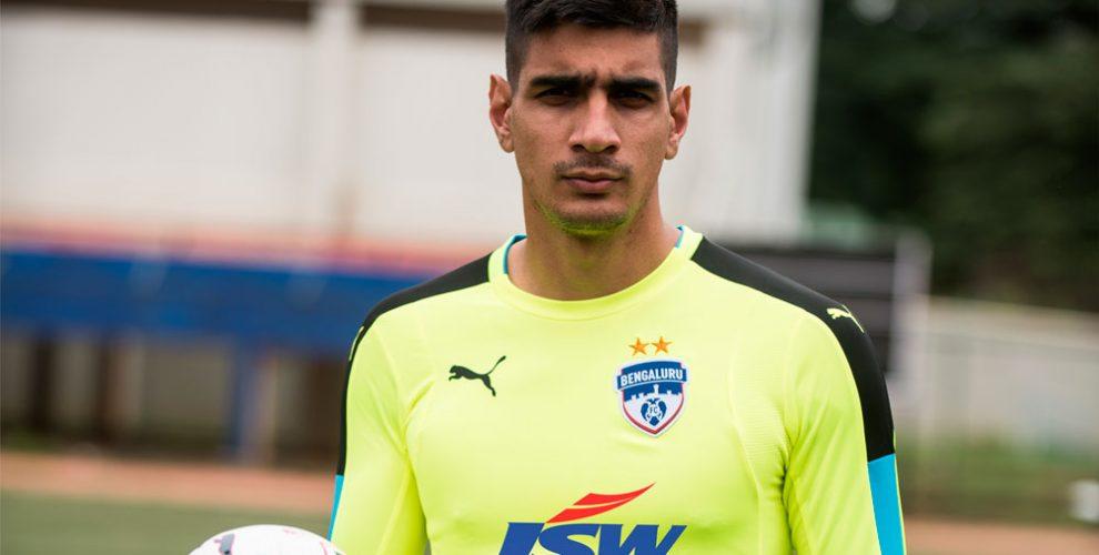 Bengaluru FC and India goalkeeper Gurpreet Singh Sandhu (Photo courtesy: Bengaluru FC)
