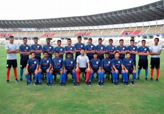 India U-16 national team for the SAFF U-15 Championships (Photo courtesy: AIFF Media)