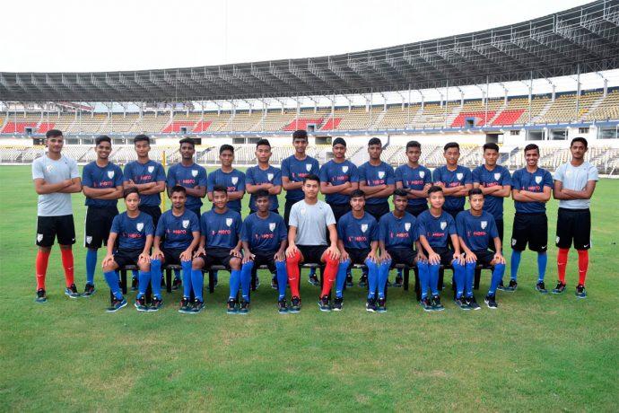 India U-16 national team for the SAFF U-15 Championships (Photo courtesy: AIFF Media)