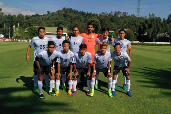 India U-17 national team (Photo courtesy: AIFF Media)
