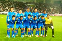 Indian national team at the 2011 AFC Asian Cup (Photo courtesy: AIFF Media)