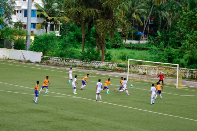 Madhya Pradesh drub Rajasthan in Sub-Junior Nationals (Photo courtesy: Goa Football Association)