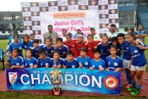 Manipur win Junior Girls National Championship 2017 (Photo courtesy: Football Association of Odisha)