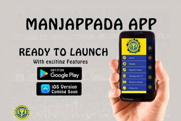 Manjappada Kerala Blasters Fans to launch Mobile App