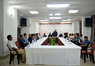 Mizoram Premier League meeting (Photo courtesy: Mizoram Football Association)