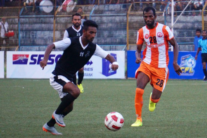 Mohammedan Sporting Club thrashed Tollygunge Agragami 5-1 to register their first win in the ongoing 2017/18 CFL Premier Division - A on Thursday. (Photo courtesy: Mohammedan Sporting Club)