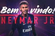 Paris Saint-Germain sign Neymar from Barcelona for a world record fee of €222m (Image courtesy: Paris Saint-Germain)