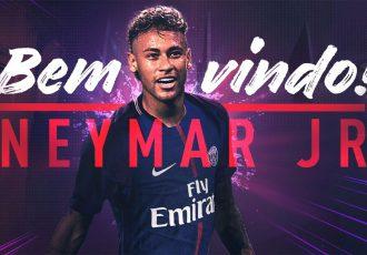 Paris Saint-Germain sign Neymar from Barcelona for a world record fee of €222m (Image courtesy: Paris Saint-Germain)