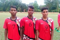Odisha Sub-Junior State Team members (Photo courtesy: Football Association of Odisha)