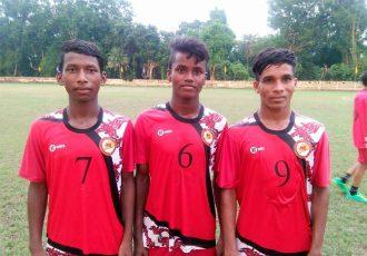 Odisha Sub-Junior State Team members (Photo courtesy: Football Association of Odisha)