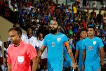 Indian national team star defender Sandesh Jhingan (Photo courtesy: AIFF Media)
