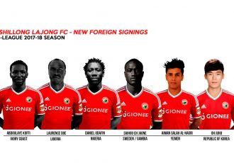 Shillong Lajong sign six foreign players for I-League 2017/18