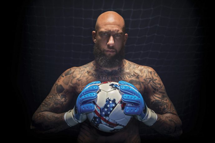 TAG Heuer announces Tim Howard as Brand Ambassador (Photo courtesy: TAG Heuer)