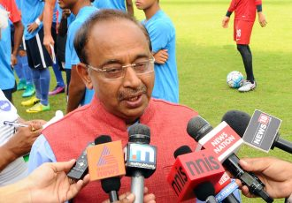 Minister of State (I/C) for Youth Affairs and Sports Shri Vijay Goel (Photo courtesy: Press Information Bureau, Government of India)