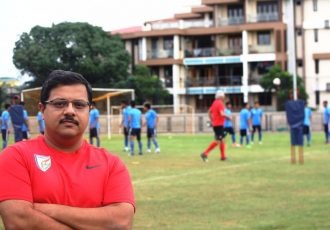Mental Conditioning Coach Dr. Swaroop Savanur (Photo courtesy: AIFF Media)